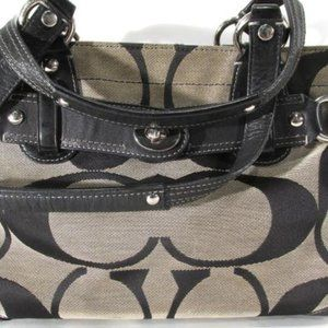 COACH C Authentic Handle Shoulder Tote Bag 13298